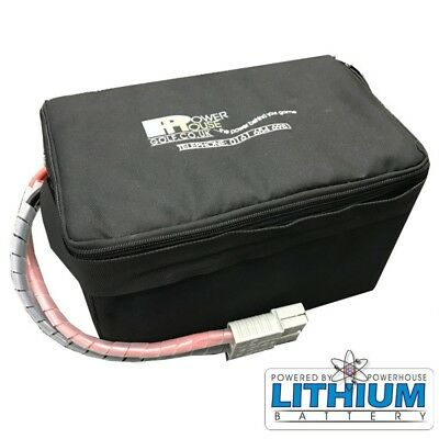 Battery - 24v 20ah 9-12 holes Lithium Battery inc. Charger