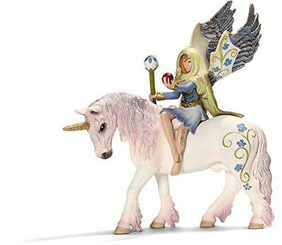 Schleich Bilara Figure Bayala Fairy on Unicorn Horse Figurine Kids Children Toy