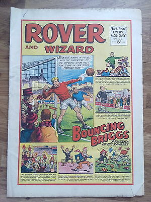 Rover And Wizard,  1968,    (  Used Condition, )