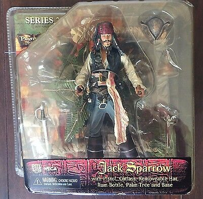 NECA Disney Pirates of the Carribbean Dead Man's Chest Captain Jack Reel Toys