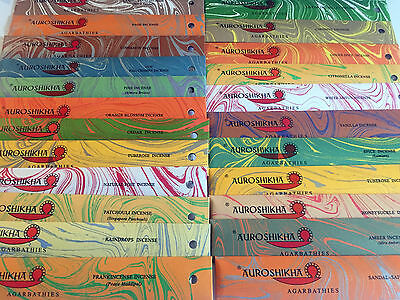 Auroshikha Incense Joss Stick High Potency-40 Min Burn Buy 3 get 1 Free -ADD 4
