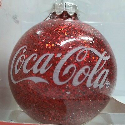 Coca-Cola Christmas Ball Ornament - BRAND NEW