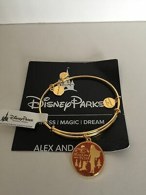 Disney Pocahontas Make Your Own Path Bangle by Alex and Ani Gold Finish New