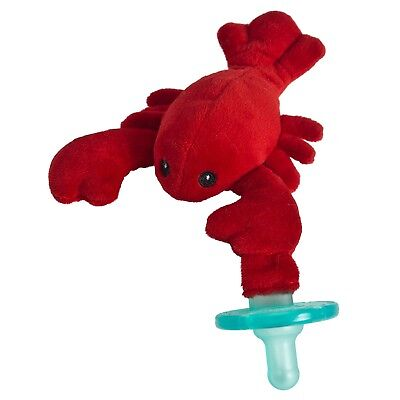 Mary Meyer WubbaNub Infant Newborn Baby Soothie Pacifier ~ Lobbie Lobster