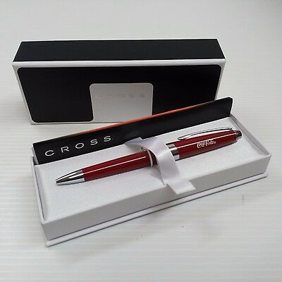 Coca-Cola Red Pen (Made by CROSS) - BRAND NEW