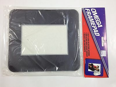 Mousepad With Pocket For Your Personal Picture ~ NEW ~ Black Border