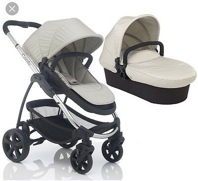 icandy strawberry 2 dune Travel system with Brand New chassis