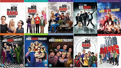 The Big Bang Theory: Seasons 1-10    *now With Season 10*   Brand New &  Sealed