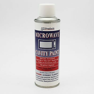 Pearl White Microwave Cavity Paint 98QBP0300 Universal New!