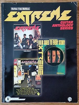 Extreme Anthology Guitar Tab Tablature Songbook