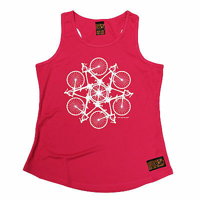 Kaleidospoke RLTW WOMENS DRY FIT VEST singlet cycling cycle mothers day gift