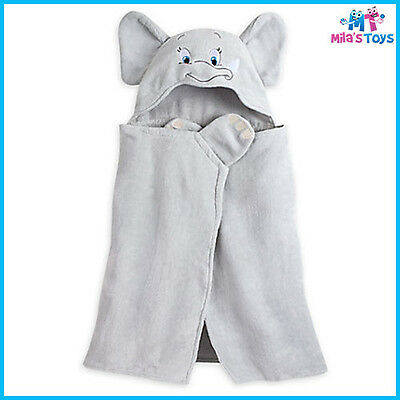 Disney Dumbo Hooded Towel for Baby 100% Cotton brand new