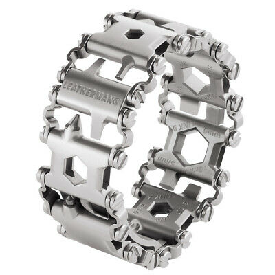 NEW Leatherman TREAD Stainless Steel Multitool Bracelet