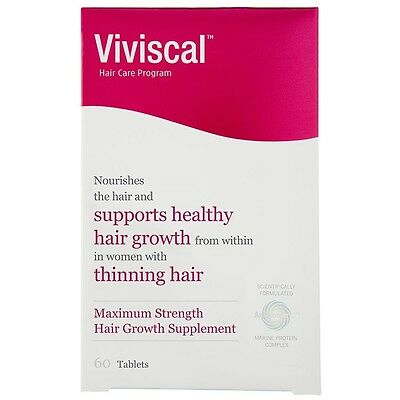 Viviscal Hair Growth Program Maximum Strength Supplement for Women 60