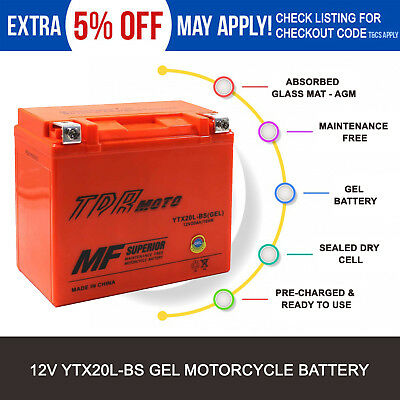 YTX20L-BS motorcycle Battery for Harley-Davidson FLS FLST FXST FLST Softail