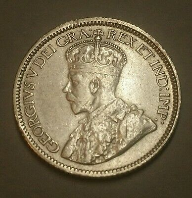 1930 Canada Silver 10 Cents Dime Low Mintage High Grade!