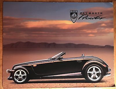 1999 Plymouth Prowler 6 Page Factory Color Sales Brochure RARE