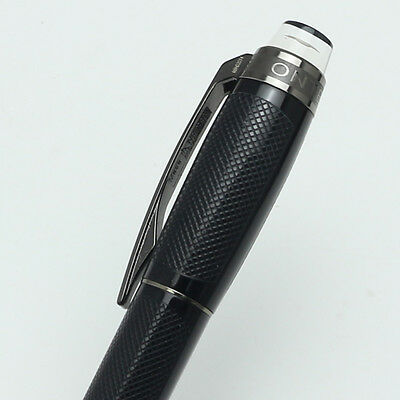 Luxury MB Starwalker black Precious Resin PVD-plated fittings roller ball pen