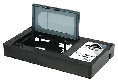 Electrovision Motorised Cassette Adaptor VHS-C To VHS Video Camcorder Adaptor