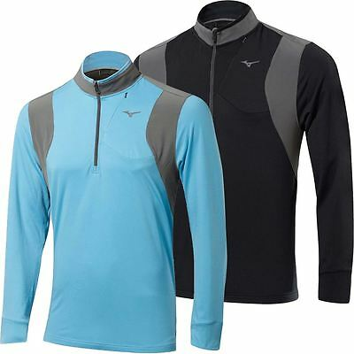 Mizuno 2017 Warm Layer 1/4 Zip Warmalite Pullover Mens Performance Golf Cover-Up