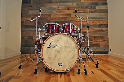 Sonor Vintage Series 4 Piece Shell Pack Red Oyster Drum Kit