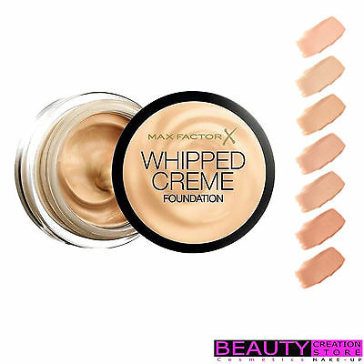 MAX FACTOR Whipped Creme Foundation 18ml CHOOSE SHADE MF017