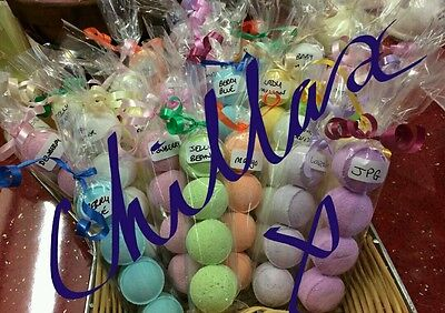 Mini Bath bomb chill pills Gorgeous  Scents....Buy 2 packs & We Send 1 Free