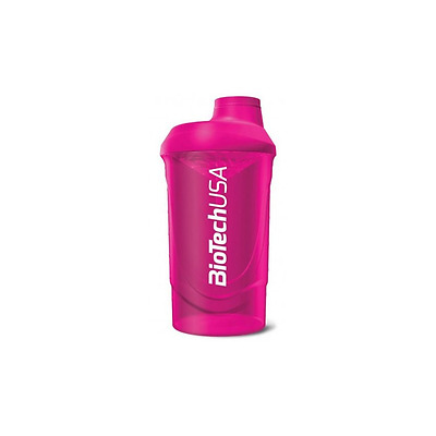 Shaker Neon Wave Fluo 700ml - Biotech USA ROSE