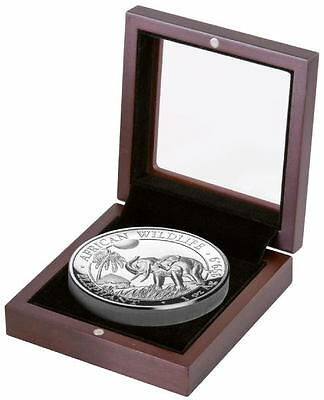 2017 Somali Elephant High Relief Silver Proof Coin 1000 minted! African Wildlife
