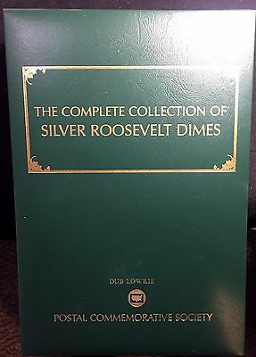 Postal Commemorative Society Collection of Roosevelt SILVER Dimes