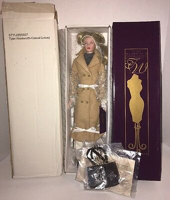 New Robert Tonner TYLER WENTWORTH Casual Luxury Dressed Doll NRFB Style #20807