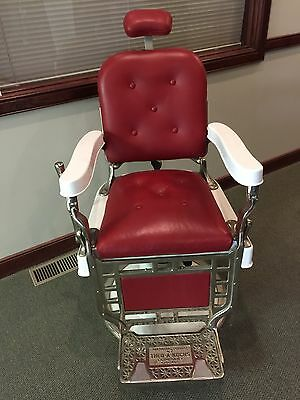 1920s Theo A Kochs Barber Chair RESTORED