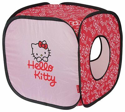 Hello Kitty Cat Bowtastic Cube New Hide and Chase Fabric Activity Cat Cube