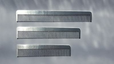 Metal Comb Professional Quality Hairdressing Barber Metal Comb