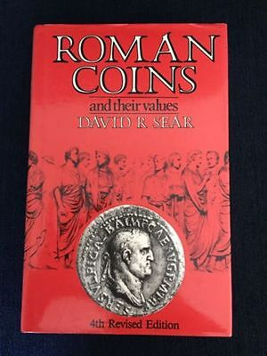 Roman Coins And Their Values 4th Revised Edition David R. Sear