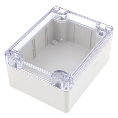 Waterproof Clear Cover Plastic Electronic Project Box 115x90x55mm U5H8