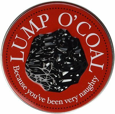 Candy Tin Lump O Coal Coal Shaped Gum