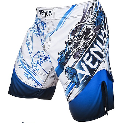 MMA Fight Shorts UFC Cage Fight Grappling Muay Thai Boxing White AllSizes P34