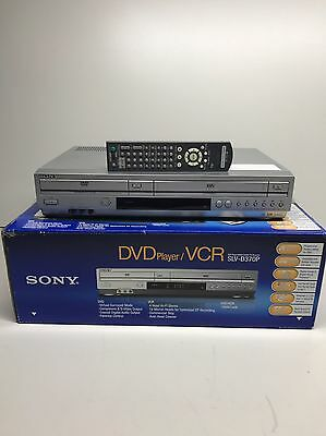 Sony SLV-D370P DVD Player Video Cassette Recorder Combo Silver W/ Remote In Box