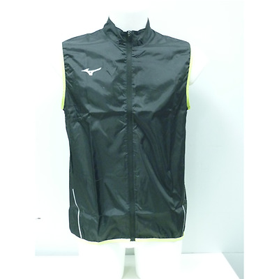 GILET RUNNING UOMO MIZUNO TEAM AUTHENTIC RAIN VEST smanicato antivento
