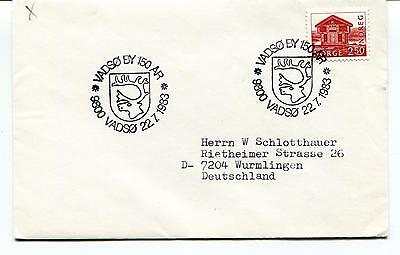 1983 VADSO BY 150 AR Norge Wurmlingen Polar Antarctic Cover