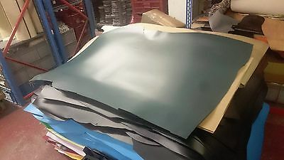Thick Green Leather Skin 2.5Mm Plus Thick Craft Reenactments Ha52