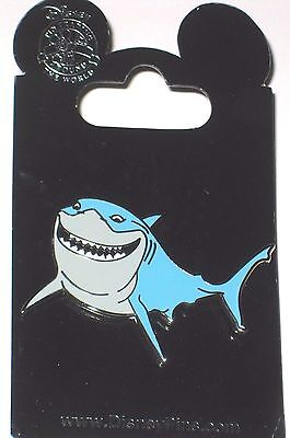 Retired Disney Pin✿Nemo Shark Bruce Recovering Addict Fish are Friends Not Food!