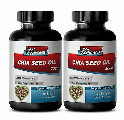 Extreme Fat Burner 90 - Chia Seed Oil 2000mg Source of Omega 3-6-9 Nutrition 2B