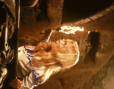 Indiana Jones and the Last Crusade Alison Doody Autographed 11x14 Poster Photo