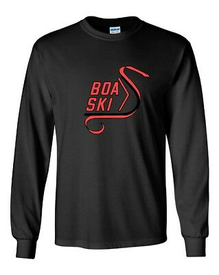 BOA SKI Vintage Snowmobile Long Sleeve T-Shirt Sizes to 5X! CHOOSE COLOR