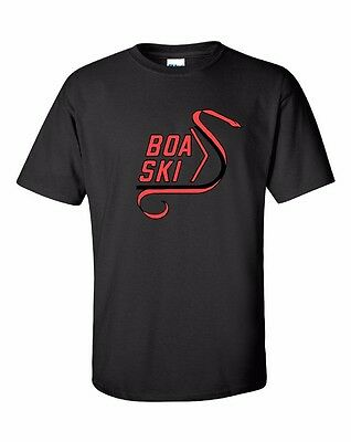 BOA SKI Vintage Snowmobile Short Sleeve T-Shirt Sizes to 5X! CHOOSE COLOR