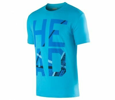 New Head Mens Carlo T-Shirt Turquoise Tennis Shirt Size XXL Brand New
