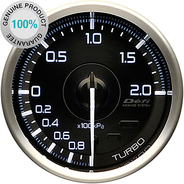 DEFI Link Meter ADVANCE A1 Turbo Boost Gauge 200kPa DF14801