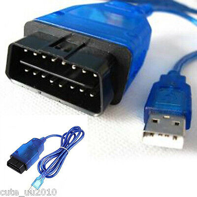 Cable Wire VAG-COM KKL 409.1 OBD2 Cable Auto Scanner Scan Tool For Audi VW SEAT
